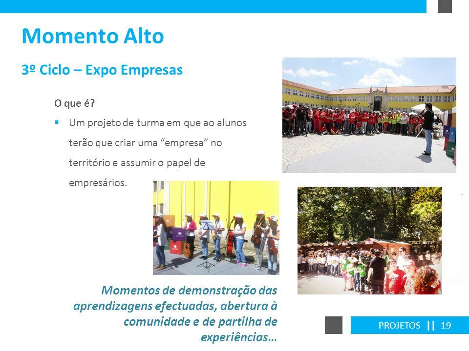 Momento Alto 3º Ciclo – Expo Empresas
