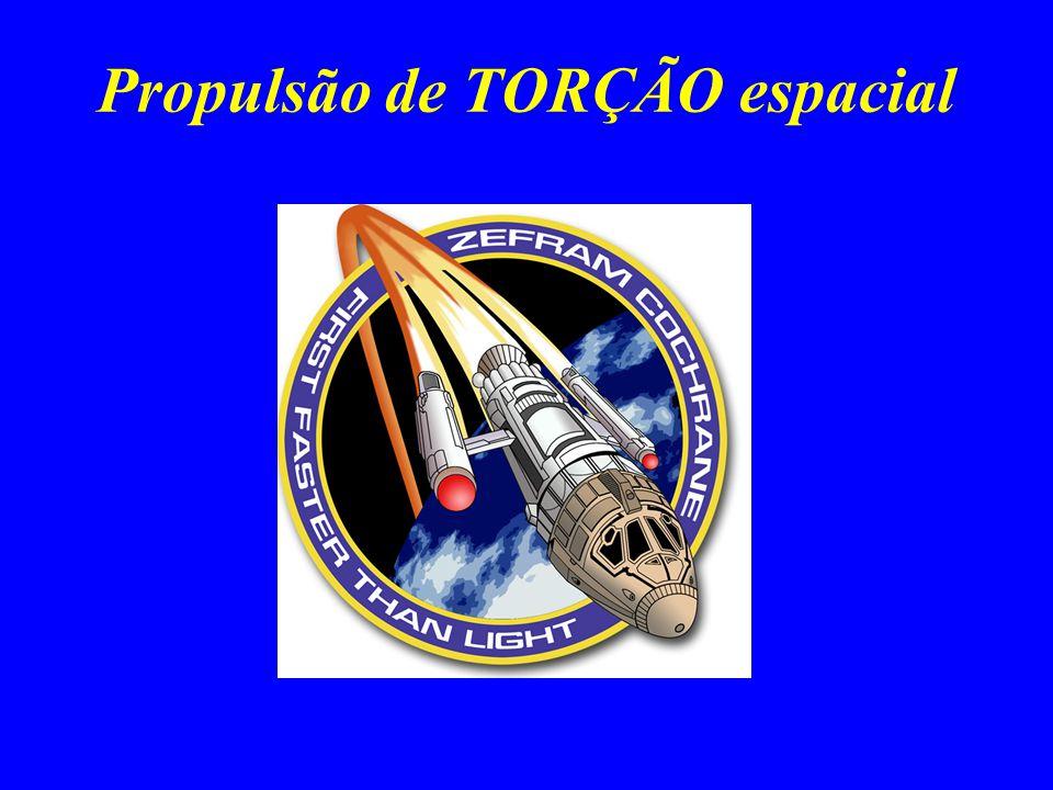 Propulsão de TORÇÃO espacial