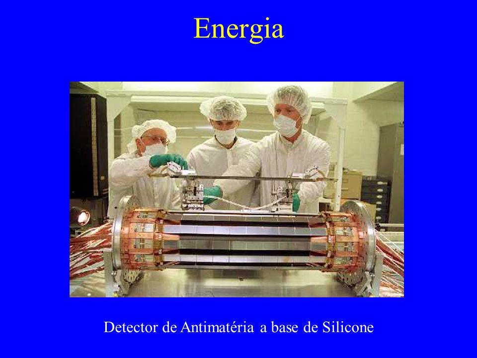 Detector de Antimatéria a base de Silicone