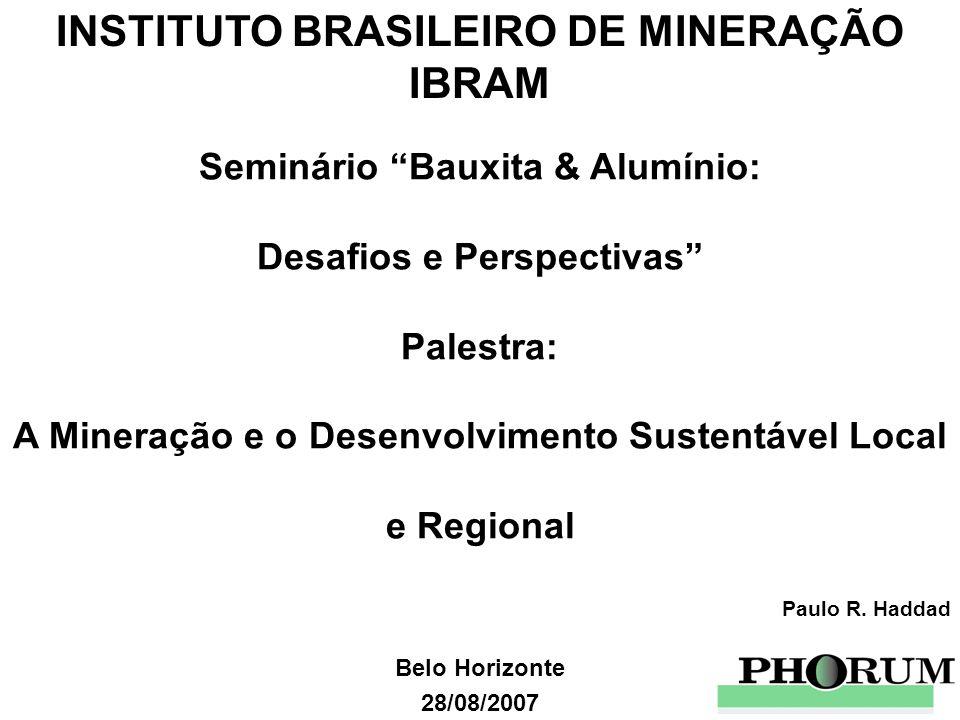 A Mineração e o Desenvolvimento Sustentável Local