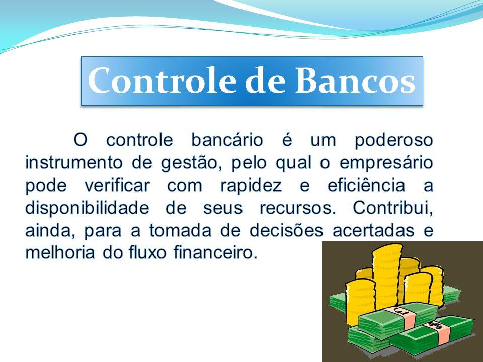 Controle de Bancos