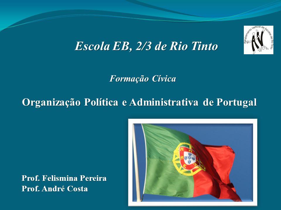 Organização Política e Administrativa de Portugal