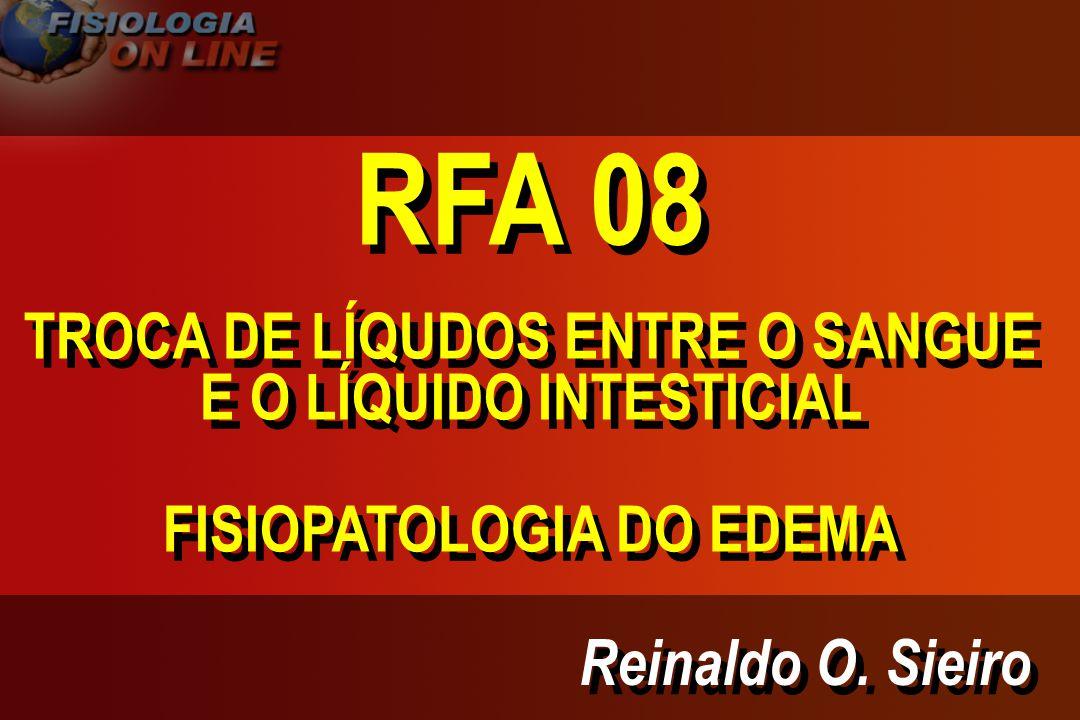 RFA 08 TROCA DE LÍQUDOS ENTRE O SANGUE E O LÍQUIDO INTESTICIAL