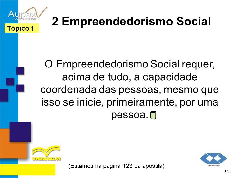 2 Empreendedorismo Social