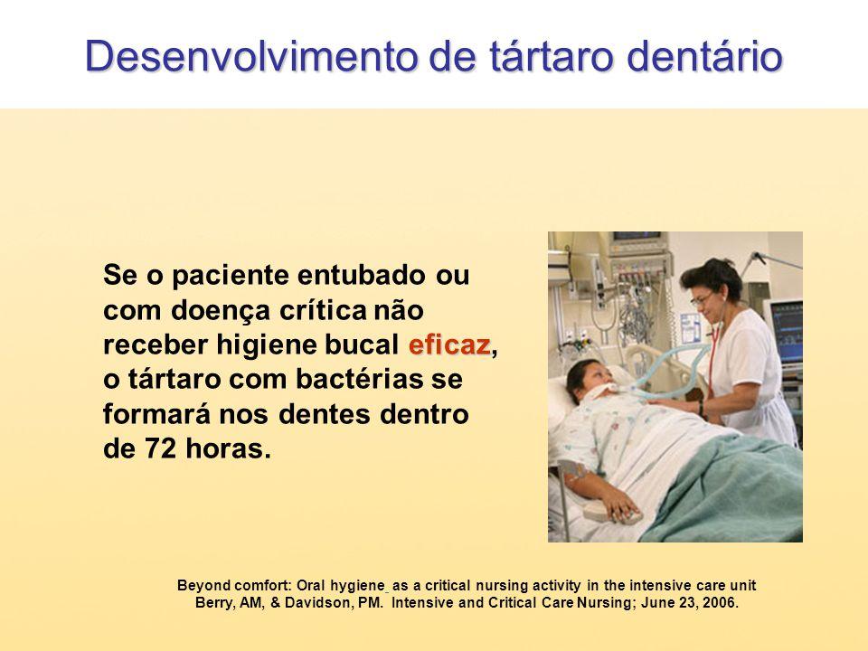 Desenvolvimento de tártaro dentário