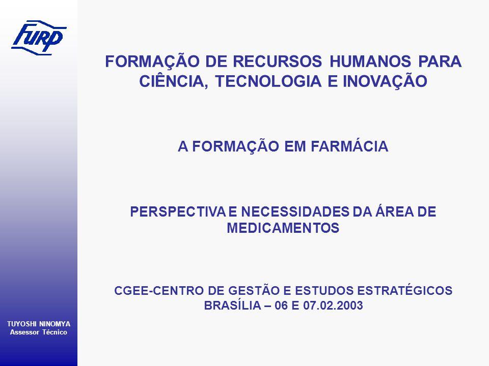 FORMAÇÃO DE RECURSOS HUMANOS PARA CIÊNCIA, TECNOLOGIA E INOVAÇÃO