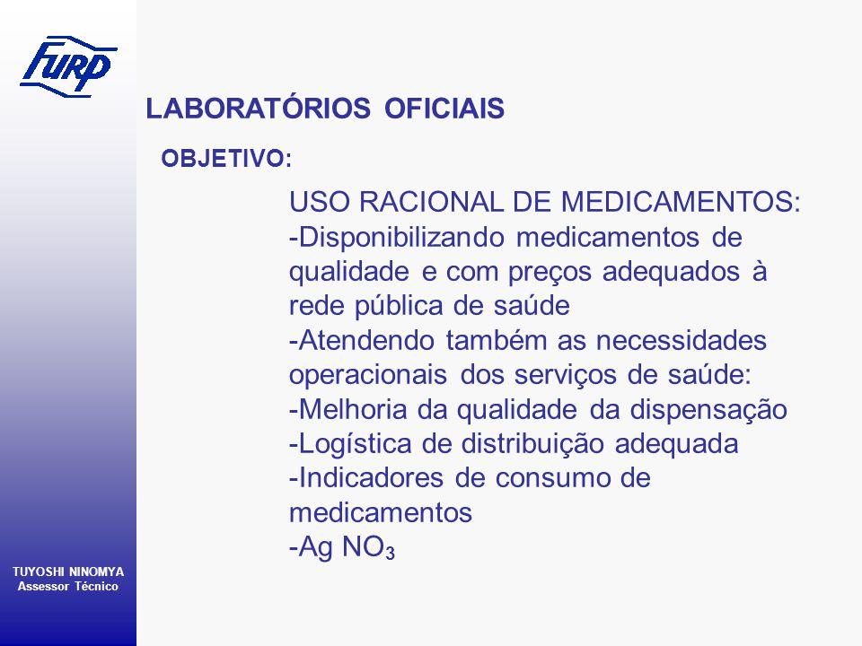 LABORATÓRIOS OFICIAIS