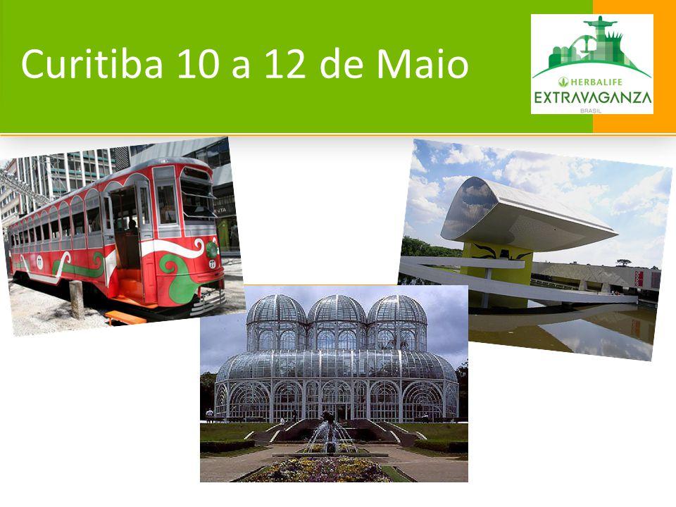 Curitiba 10 a 12 de Maio