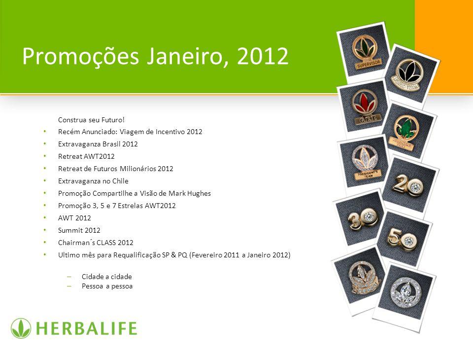 Promoções Janeiro, 2012 Construa seu Futuro!