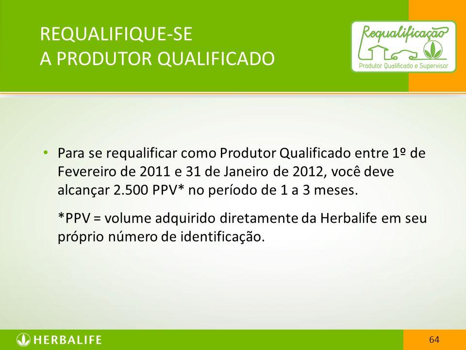 REQUALIFIQUE-SE A PRODUTOR QUALIFICADO
