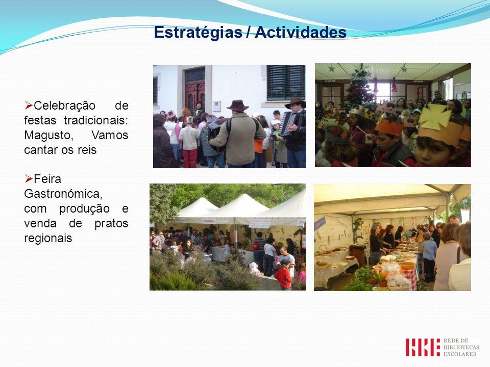 Estratégias / Actividades