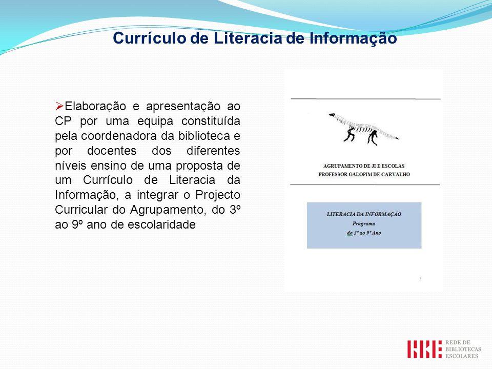 Currículo de Literacia de Informação