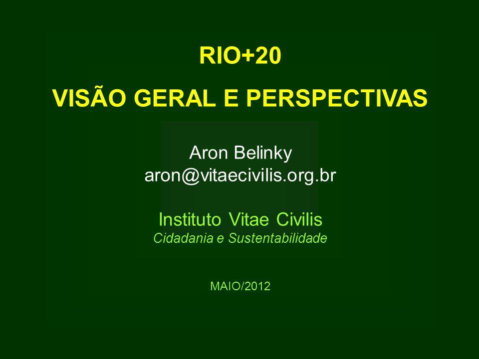 VISÃO GERAL E PERSPECTIVAS