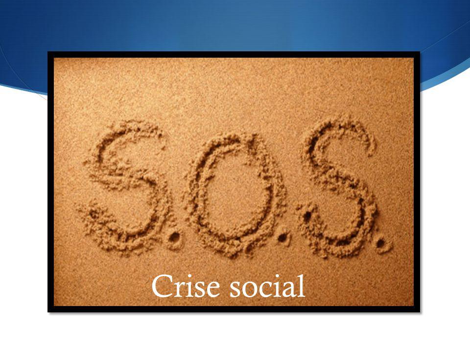 Crise social CRISE SOCIAL