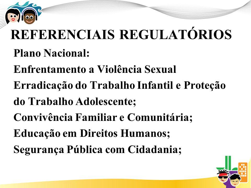 REFERENCIAIS REGULATÓRIOS