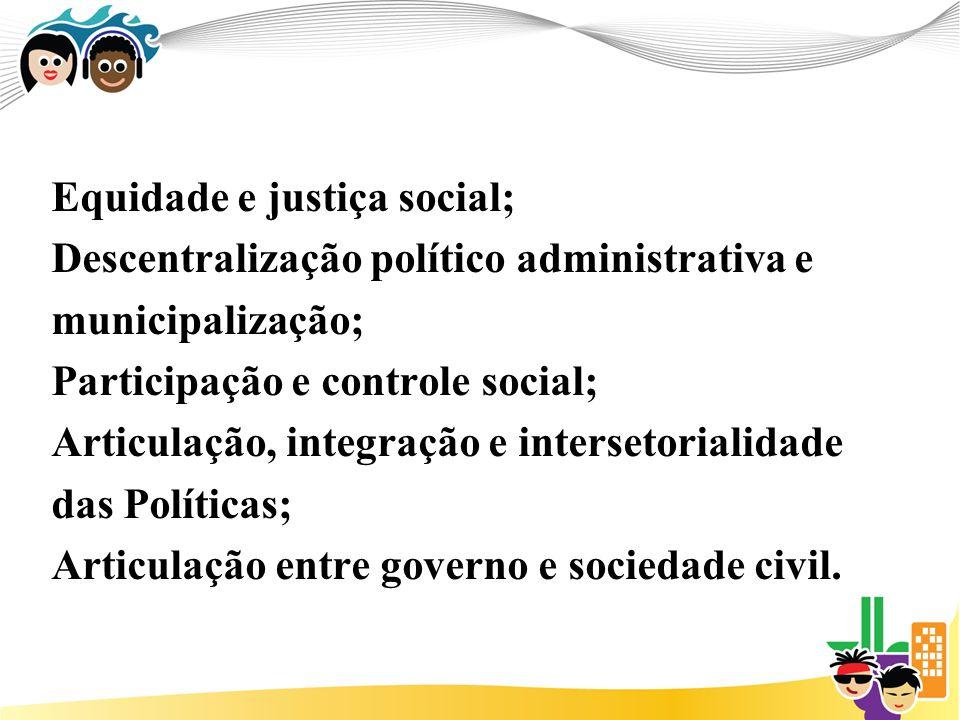Equidade e justiça social;