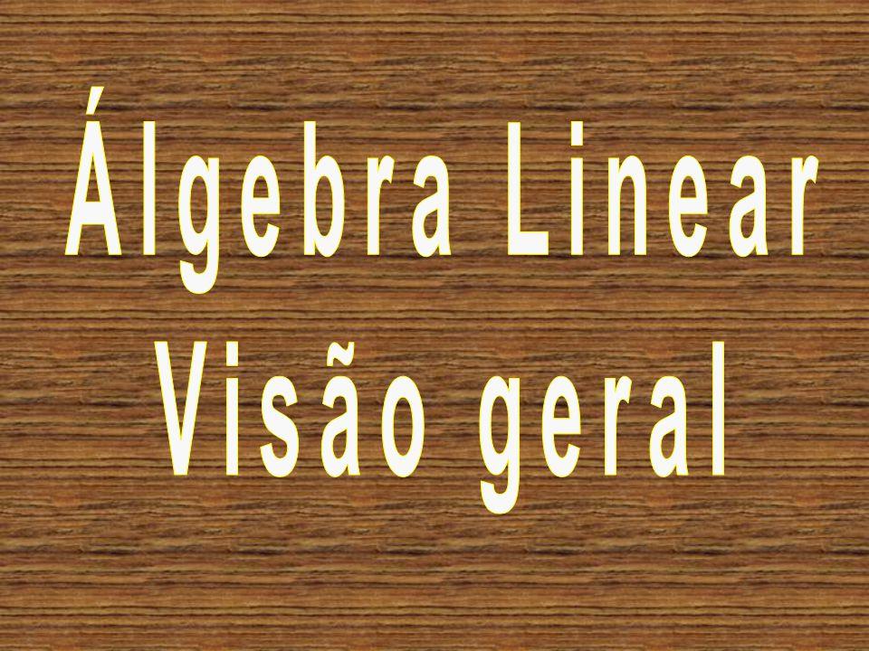Álgebra Linear Visão geral
