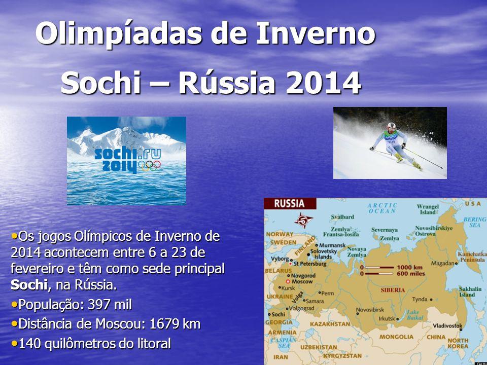 Olimpíadas de Inverno Sochi – Rússia 2014