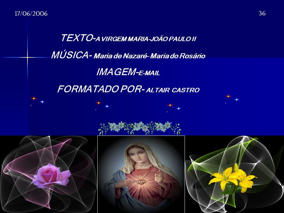 TEXTO-A VIRGEM MARIA-JOÃO PAULO II