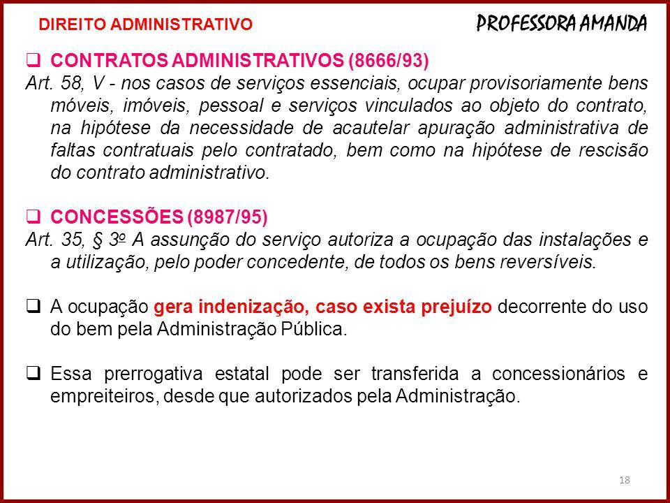 CONTRATOS ADMINISTRATIVOS (8666/93)