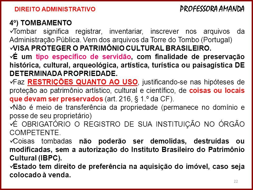 VISA PROTEGER O PATRIMÔNIO CULTURAL BRASILEIRO.