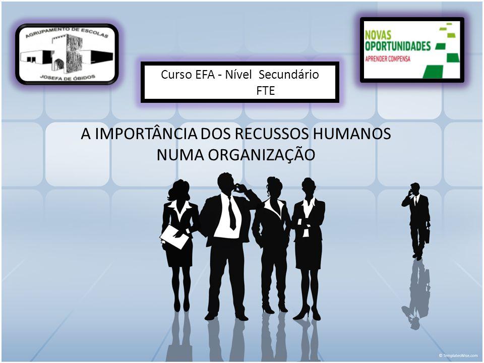 Curso EFA - Nível Secundário FTE