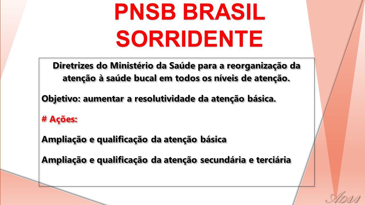 PNSB BRASIL SORRIDENTE