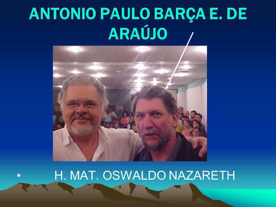 ANTONIO PAULO BARÇA E. DE ARAÚJO