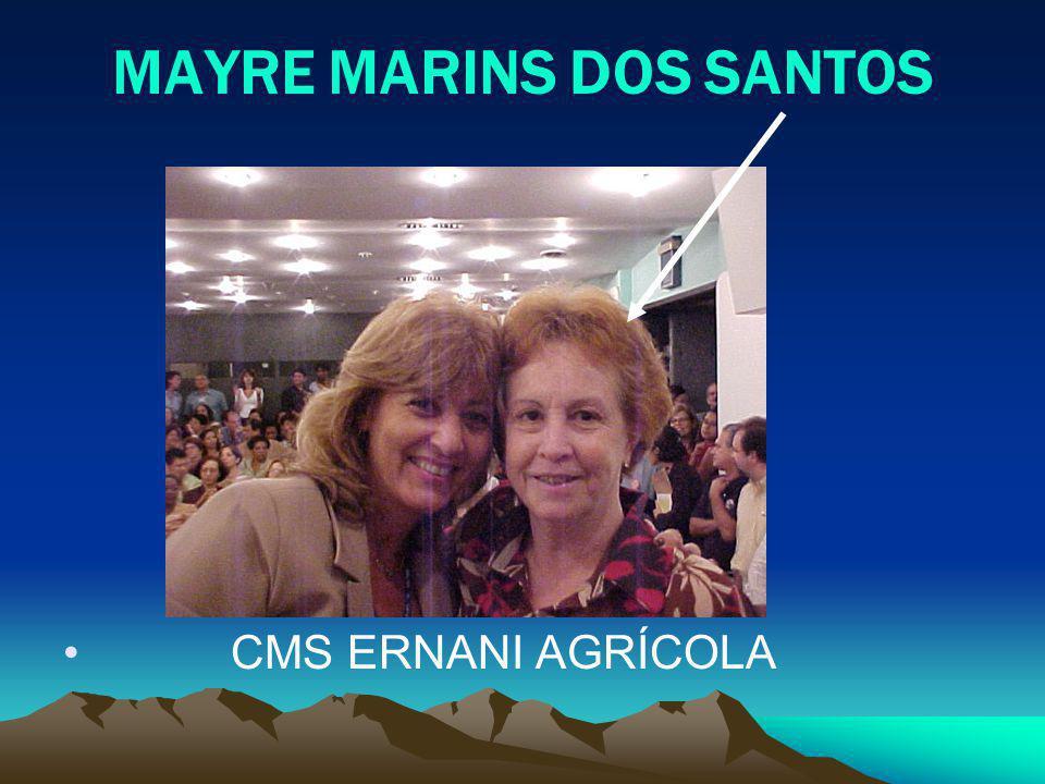 MAYRE MARINS DOS SANTOS