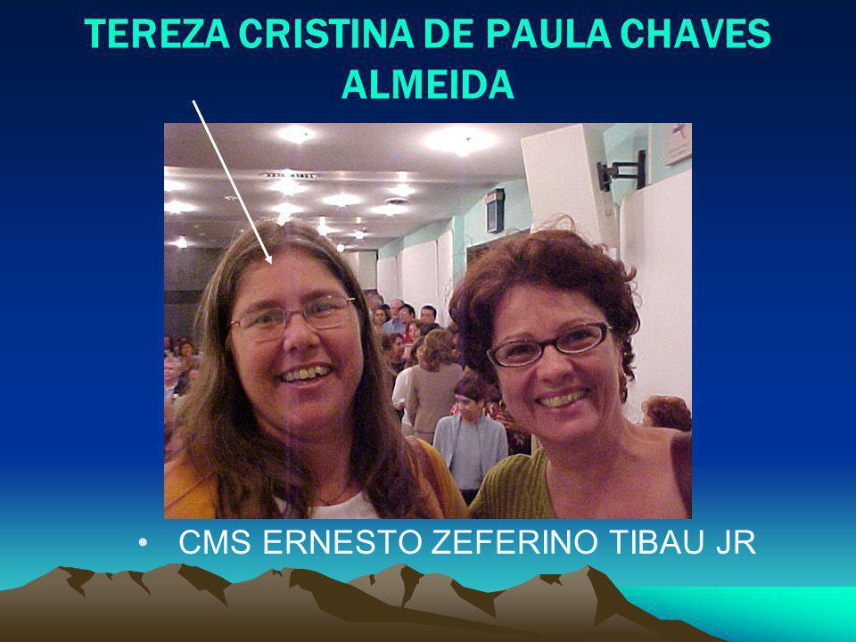 TEREZA CRISTINA DE PAULA CHAVES ALMEIDA