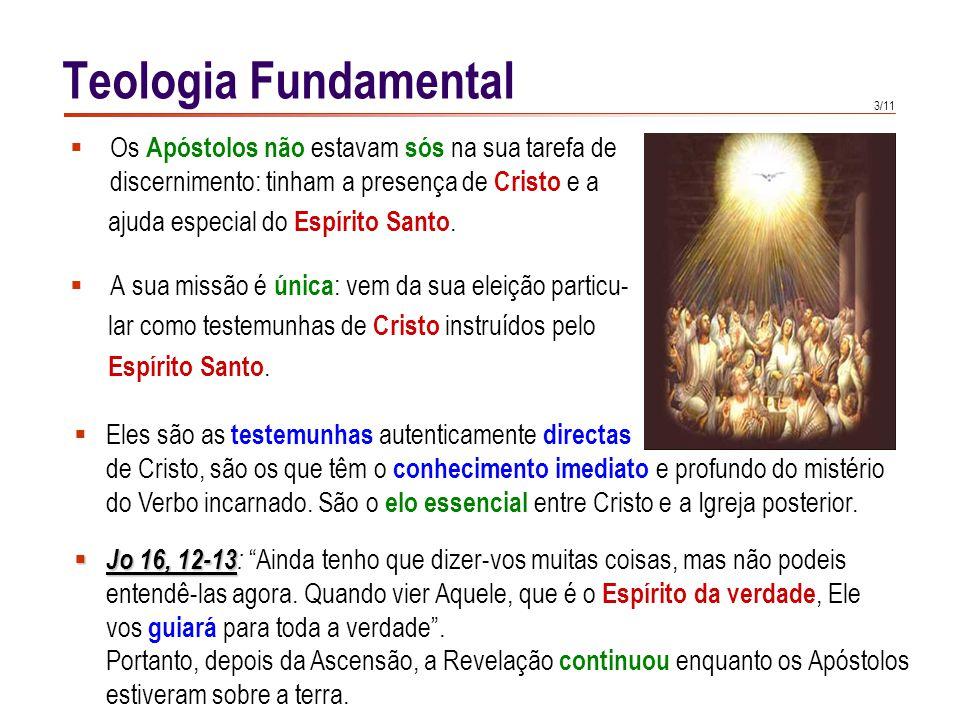 Teologia Fundamental Seguindo o exemplo de Jesus Cristo,
