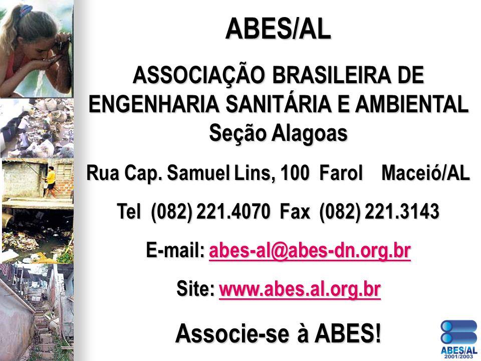 ABES/AL Associe-se à ABES!