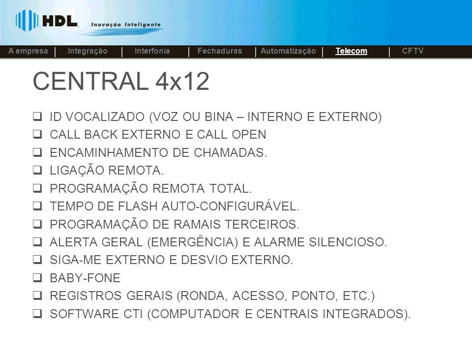 CENTRAL 4x12 ID VOCALIZADO (VOZ OU BINA – INTERNO E EXTERNO)
