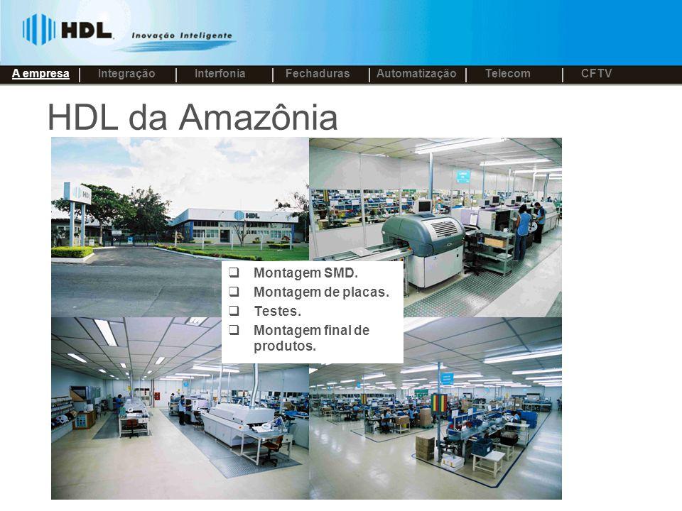 HDL da Amazônia Montagem SMD. Montagem de placas. Testes.