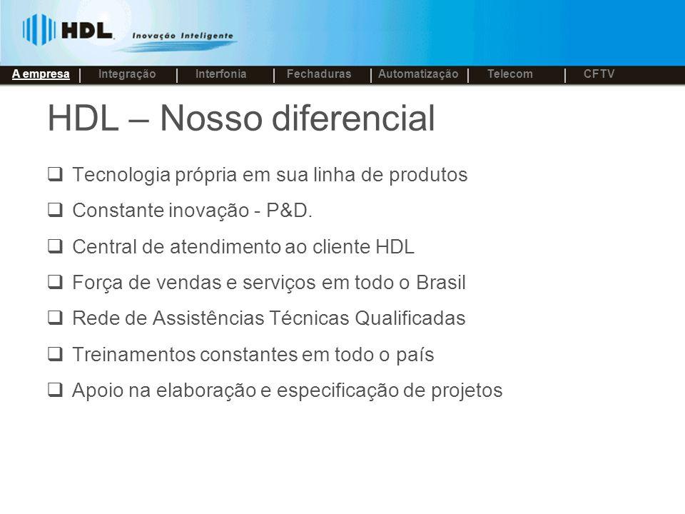 HDL – Nosso diferencial