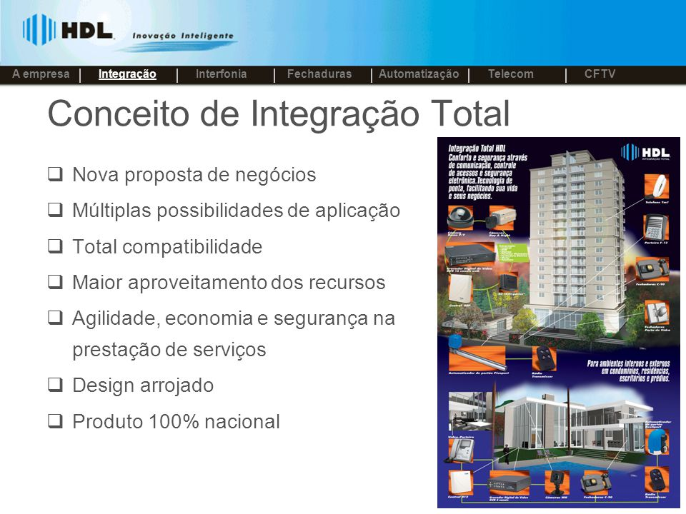Conceito de Integração Total