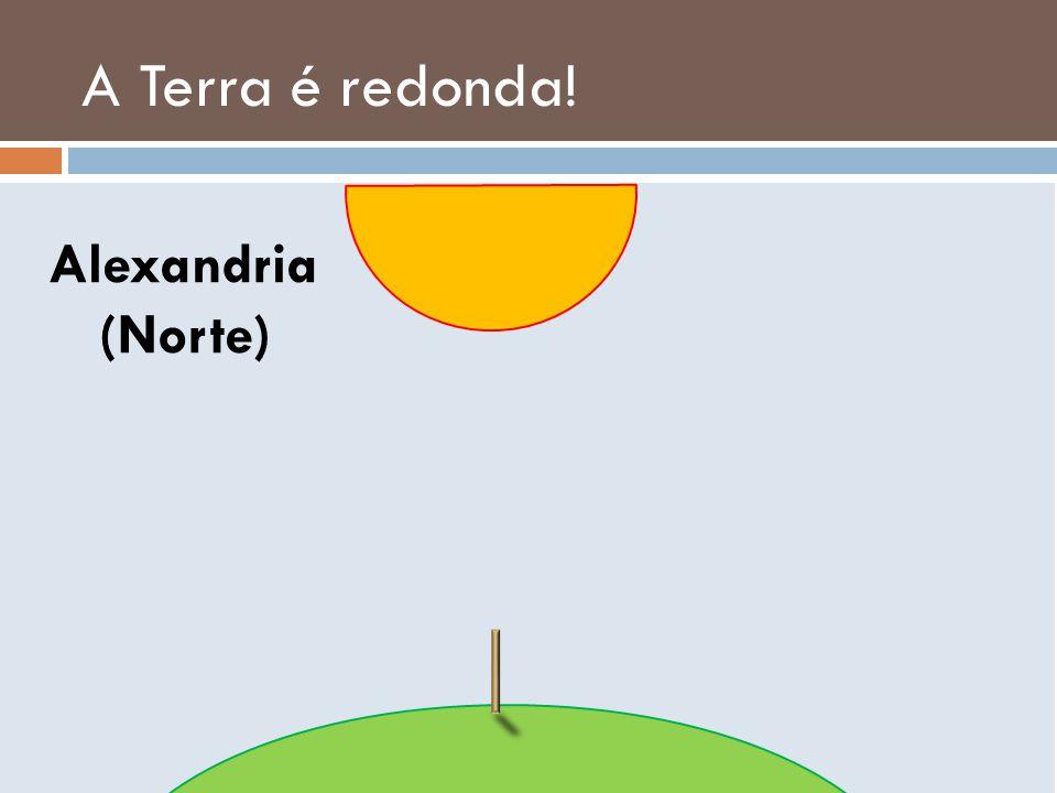 A Terra é redonda! Alexandria (Norte)