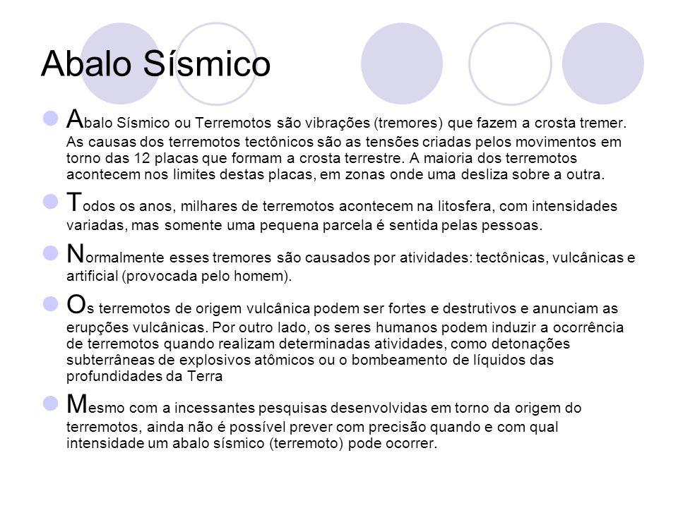 Abalo Sísmico