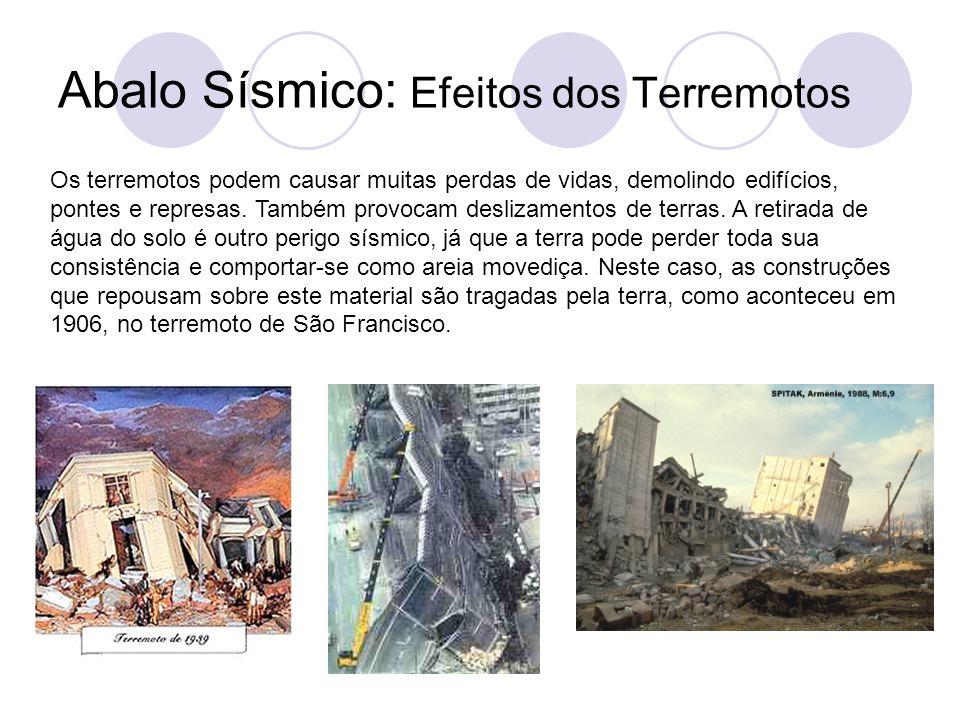 Abalo Sísmico: Efeitos dos Terremotos