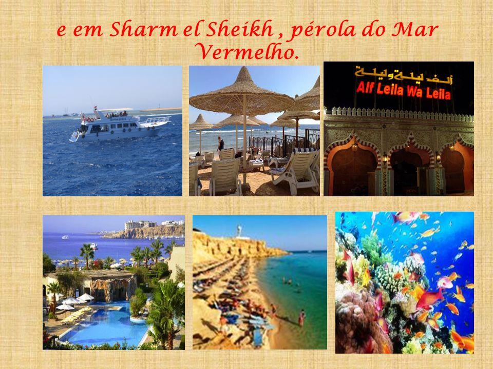 e em Sharm el Sheikh , pérola do Mar Vermelho.