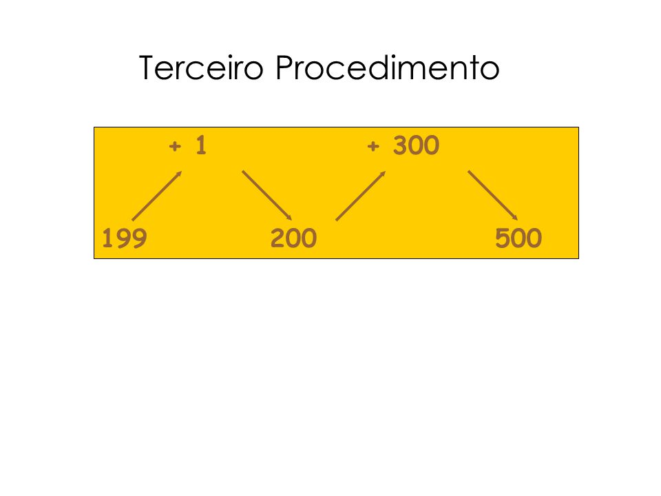 Terceiro Procedimento
