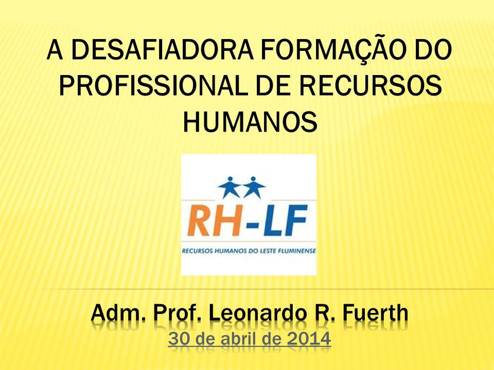 Adm. Prof. Leonardo R. Fuerth 30 de abril de 2014
