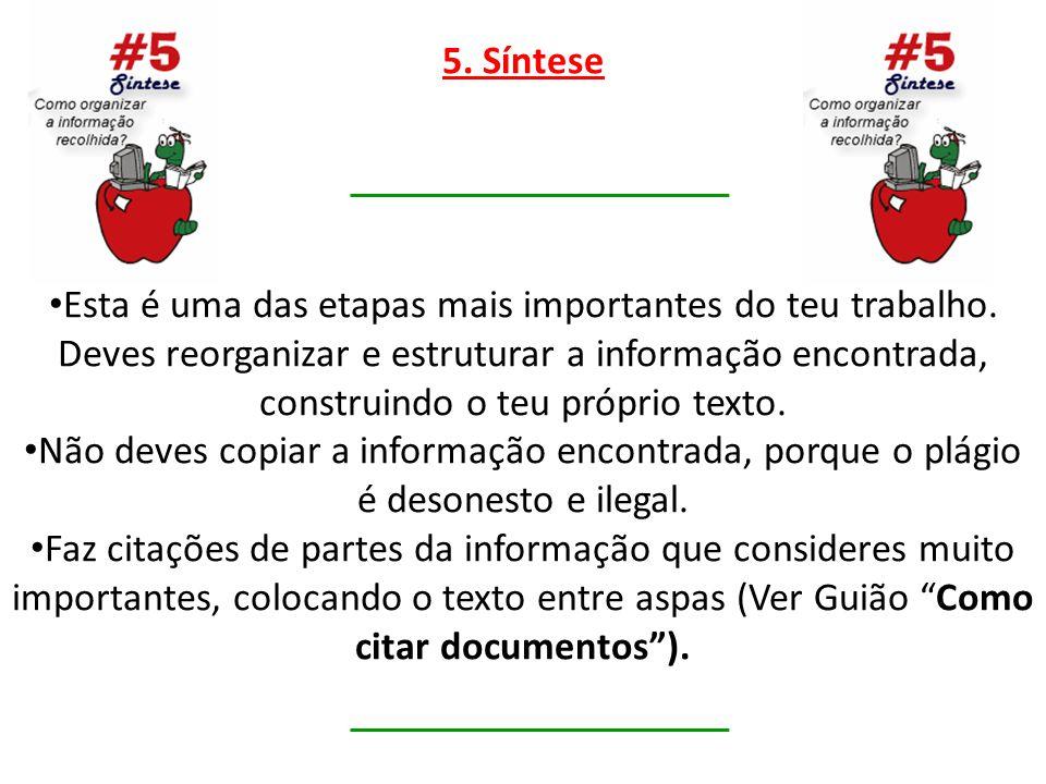 5. Síntese