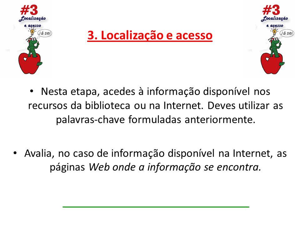 3. Localização e acesso