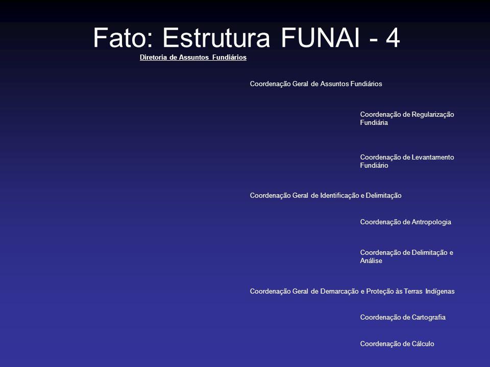Fato: Estrutura FUNAI - 4