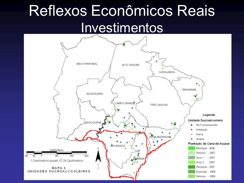 Reflexos Econômicos Reais Investimentos