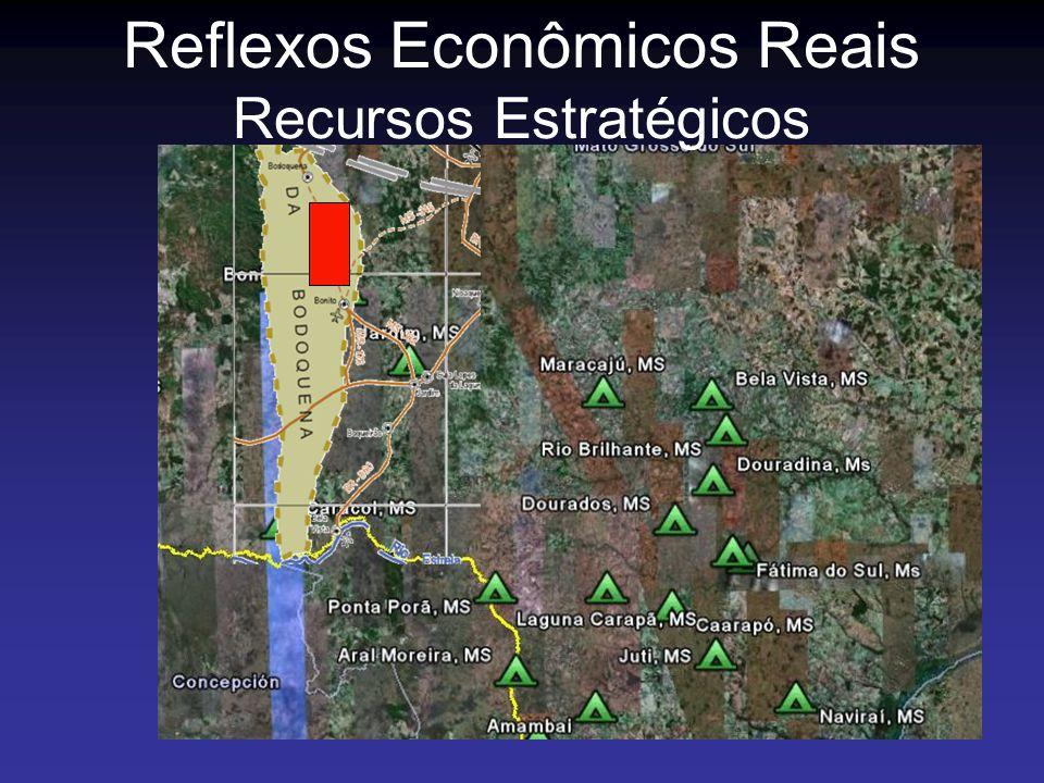 Reflexos Econômicos Reais Recursos Estratégicos