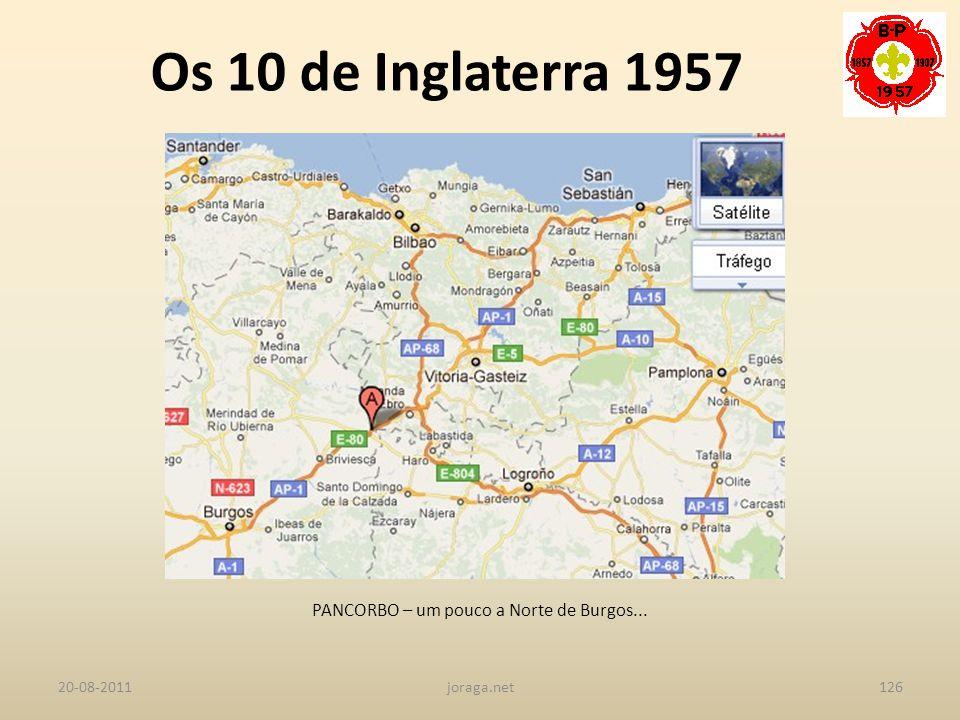 PANCORBO – um pouco a Norte de Burgos...