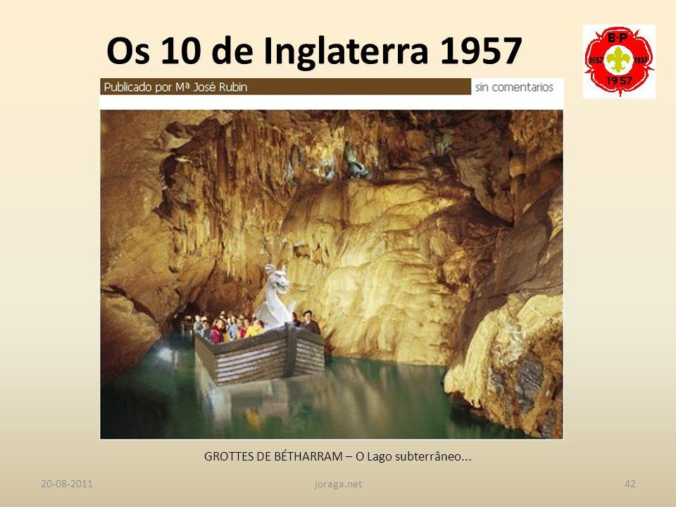 GROTTES DE BÉTHARRAM – O Lago subterrâneo...