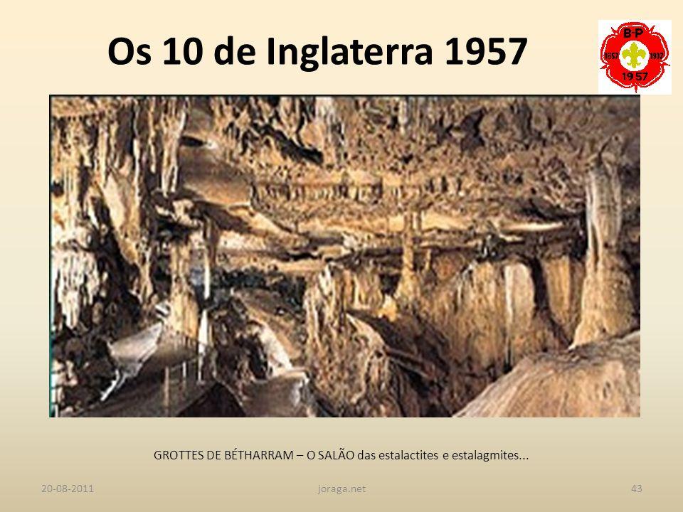 GROTTES DE BÉTHARRAM – O SALÃO das estalactites e estalagmites...